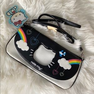 LOUNGEFLY | Hello Kitty rainbow clutch